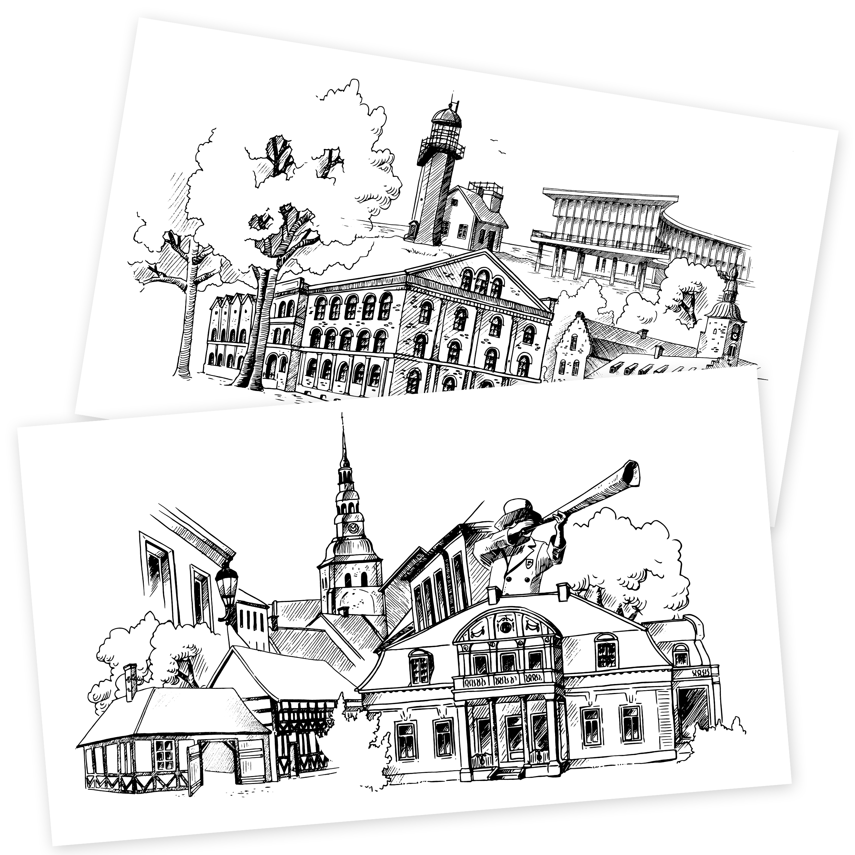 Illustrationer för Hireq AB